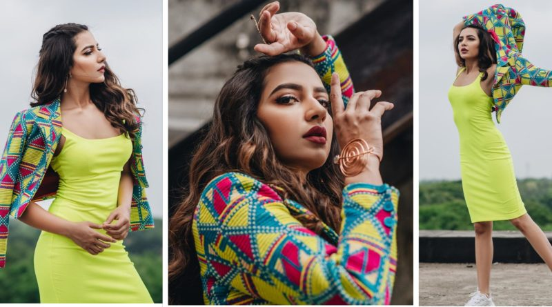 Subhasree Ganguly aces the Neon look !!!
